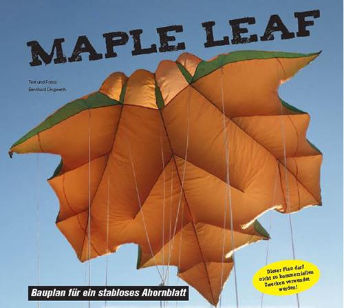 Bauplan Maple Leaf